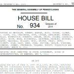 Pennsylvania House Bill 934